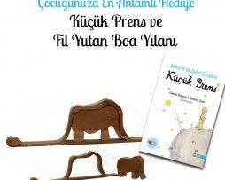 Fil Yutmuş Boa Yılanı ve Küçük Prens Kitabı