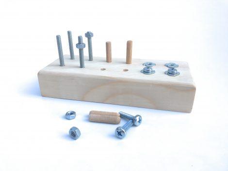 Montessori Vida – Somun Çalışma Seti