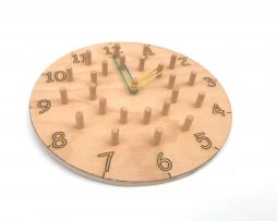 Ahşap Montessori Saat
